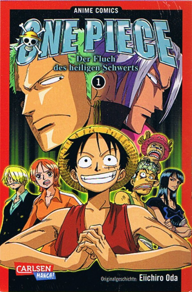One Piece: Der Fluch des heiligen Schwertes 01