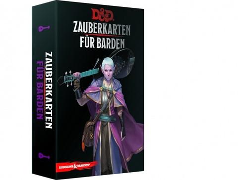 D&D RPG - Zauberkarten: Barden