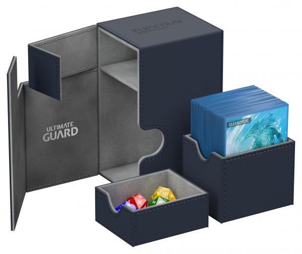 Flip´n´Tray Deck Case 80+ Standard Size XenoSkinTM Blue