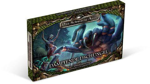 DSA5 Spielkartenset  Dampfende Dschungel