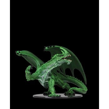 Pathfinder Deep Cuts Unpainted Miniatures: Gargantuan Green Dragon