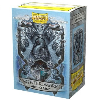 Dragon Shield Art Sleeves - King Athromark III: Coat-of-Arms (100 Sleeves)