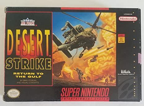 Desert Strike: Return to the Gulf - MODUL ** (Super Nintendo, gebraucht) **
