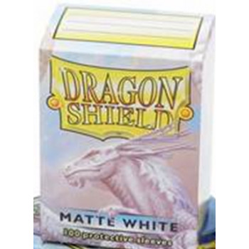 Dragon Shield Card Sleeves - Matte White (100)