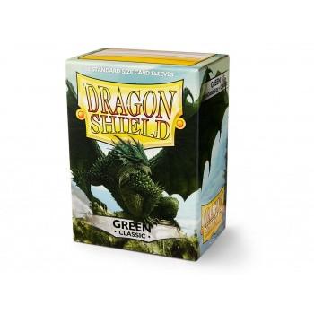 Dragon Shield Card Sleeves Green (100)