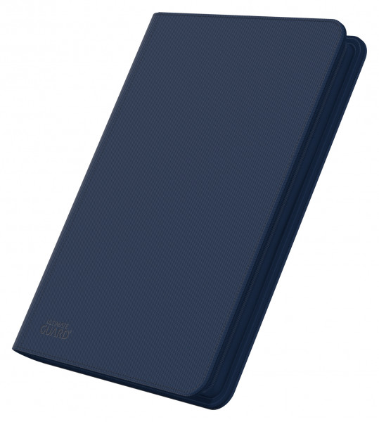 8-Pocket QuadRow ZipFolio XenoSkinTM Dark Blue