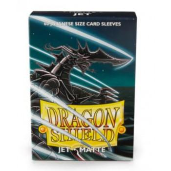 Dragon Shield Small Card Sleeves Matte Jet(60)
