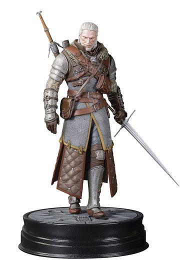 Witcher 3 Wild Hunt PVC Statue Geralt Grandmaster Ursine 24 cm