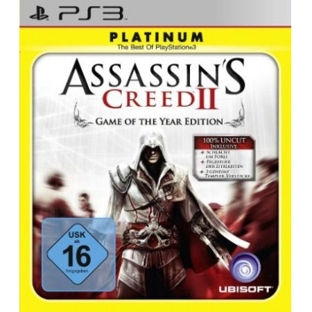 Assassins Creed II - Game of the Year Edition Platinum