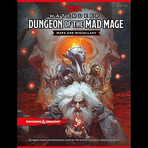 D&D RPG - Dungeon of the Mad Mage Maps and Miscellany en.