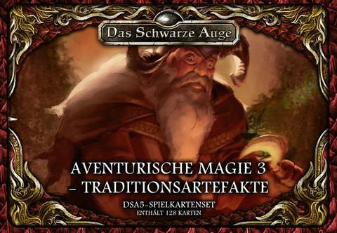 DSA5: Spielkartenset Aventurische Magie 3 Traditionsartefakte