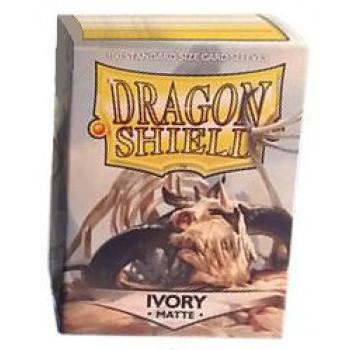 Dragon Shield Card Sleeves - Matte Ivory (100)