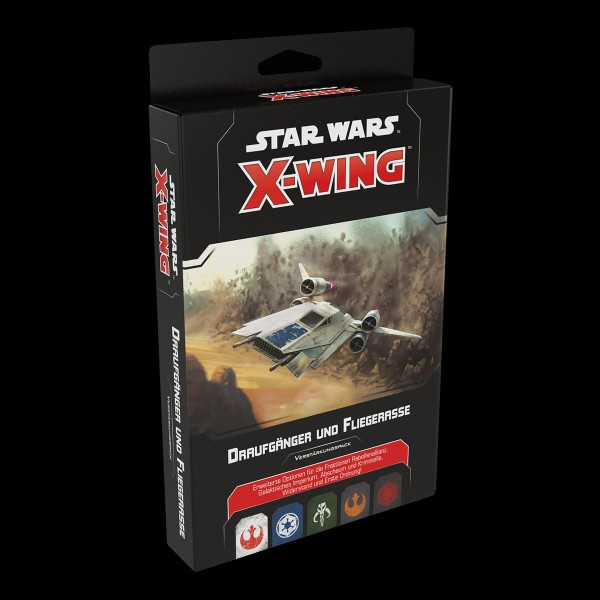X-Wing 2. Edition: Draufgänger und Fliegerasse Verstärkungspack