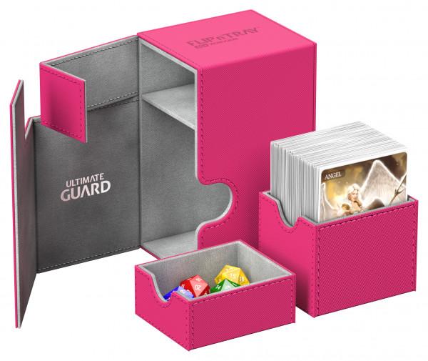 Flip´n´Tray Deck Case 80+ Standard Size XenoSkinTM Pink