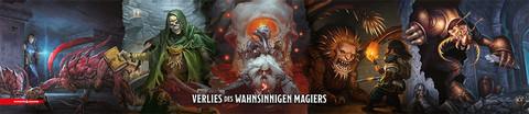 D&D RPG - Dungeon Masters Screen - Das Verließ des wahnsinnigen Magiers