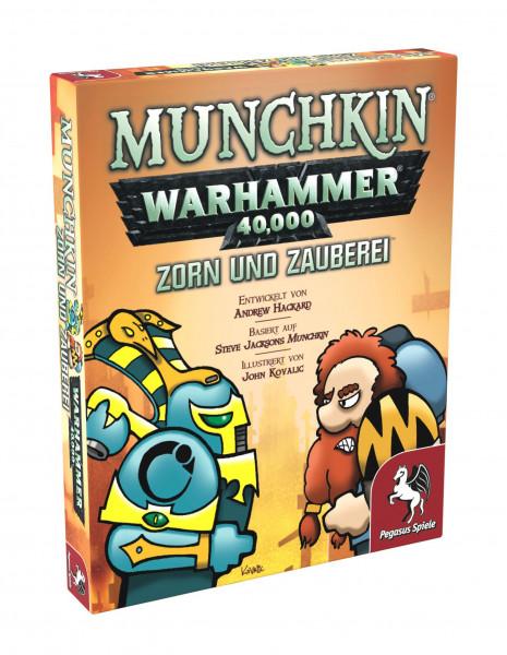Munchkin: WH 40.000 - Zorn und Zauberei