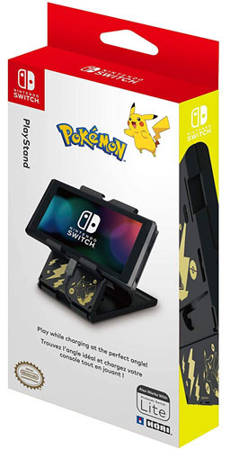 Switch Play Stand Pikachu black/gold