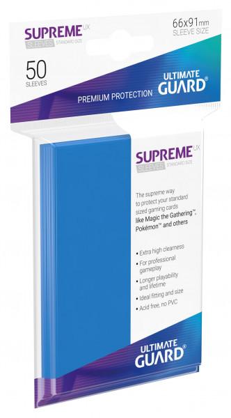Supreme Sleeves Standard Size Slim UX Royal Blue (50)
