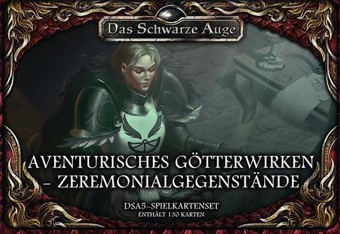 DSA5: Aventurisches Götterwirken: Zeremonialgegenstände (Kartenset)