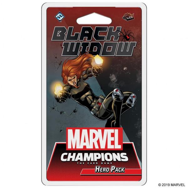 Marvel Champions LCG Black Widow Hero Pack