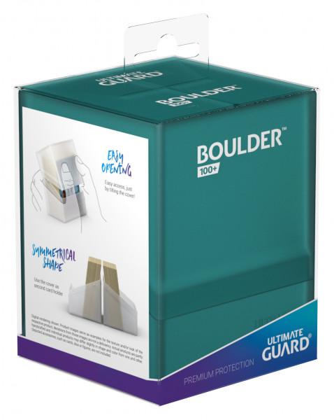 Boulder & Trade Deck Case 100+ Standardgröße Malachit