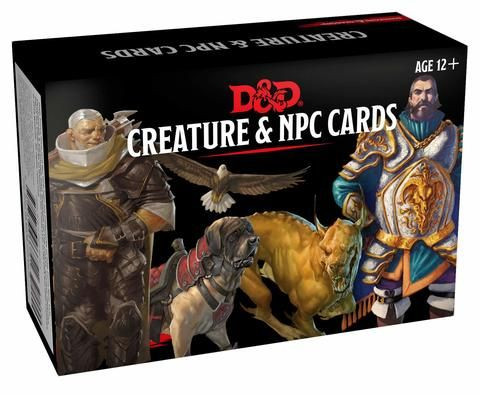 D&D RPG - Creature & NPC Cards engl.
