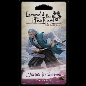 FFG - Legend of the Five Rings LCG: Justice for Satsume - EN