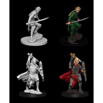 Dungeons & Dragons Nolzur`s Marvelous Unpainted Miniatures: W6 Female Elf Fighter
