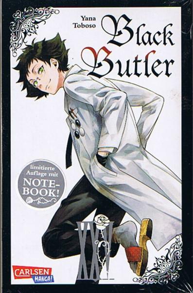 Black Butler 25 + Notizbuch