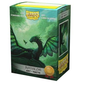 Dragon Shield Matte Art Sleeves - Rayalda (100 Sleeves)