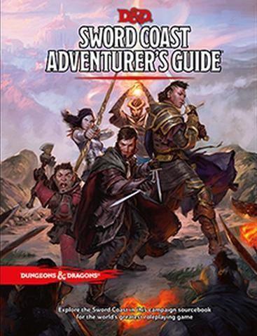D&D RPG - Sword Coast Adventure Guide HC