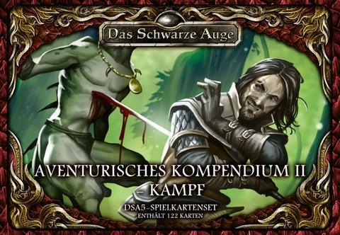 DSA5: Spielkartenset Aventurisches Kompendium II - Kampf