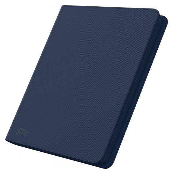 12-Pocket QuadRow ZipFolio XenoSkinTM Dark Blue