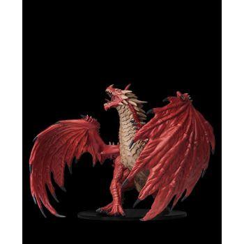 Pathfinder Deep Cuts Unpainted Miniatures: Gargantuan Red Dragon