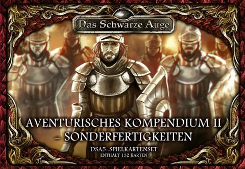 DSA5: Spielkartenset Aventurisches Kompendium II - Sonderfertigkeiten