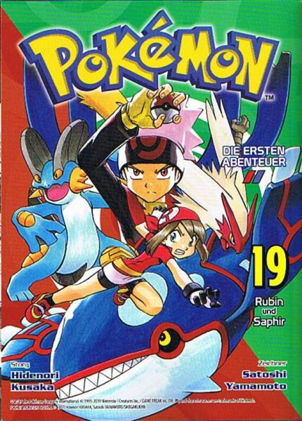 Pokemon – Die ersten Abenteuer Band 19