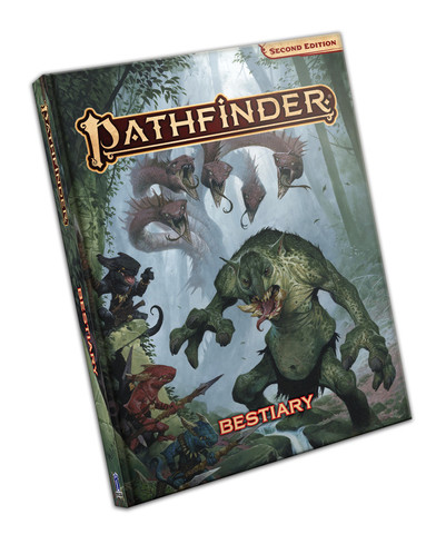 Pathfinder 2. Ed: Bestiary