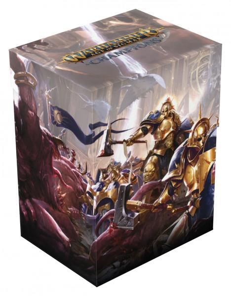 Warhammer Age of Sigmar: Champions Basic Deck Case 80+ Standardgröße Order: Devine Blast