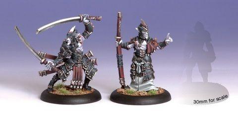 Legion Blighted Swordsmen Abbott & Champion (2) Blister