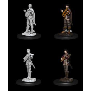 Dungeons & Dragons Nolzur`s Marvelous Miniatures: W7 Female Half-Elf Bard