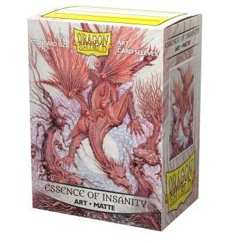 Dragon Shield Art Sleeves - Essence of Insantity (100)