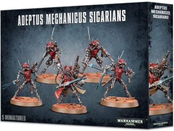 Adeptus Mechanicus Sicarians (59-11)