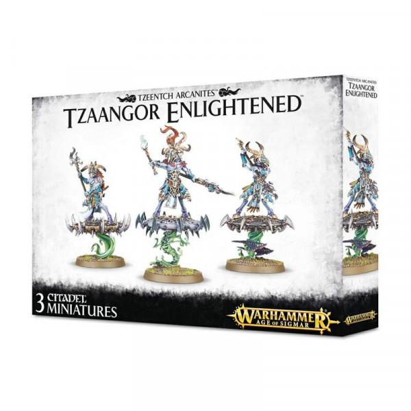 Tzeentch Arcanites Tzaangor Enlightened (83-74)