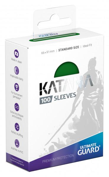 Ultimate Guard Katana Sleeves Standard Green (100)