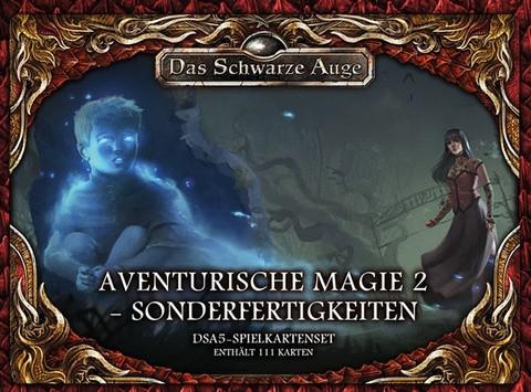 DSA5: Spielkartenset Aventurische Magie 2 Sonderfertigkeiten