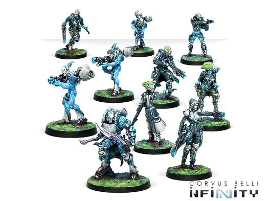 Spiral Corps Army Pack with Hatail Spec-Ops (Spitfire) Army Pack Exclusive Model