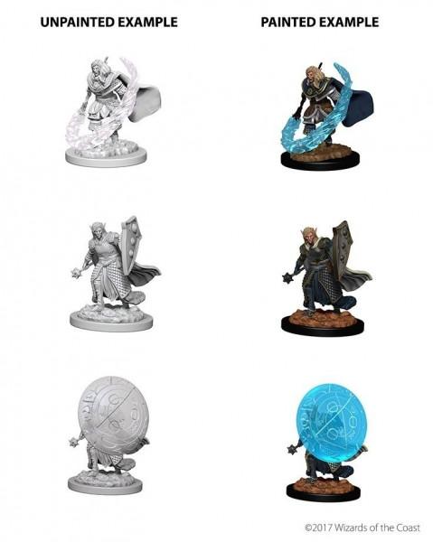 Dungeons & Dragons Nolzur`s Marvelous Unpainted Miniatures: W5 Elf Male Cleric