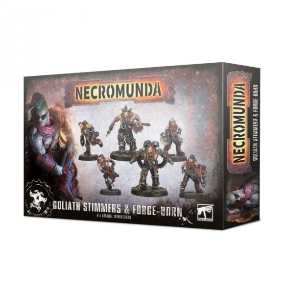 Necromunda: Goliath Stimmers & Forgeborn (300-62)