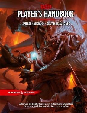 D&D RPG - Player´s Handbook (Deutsch)