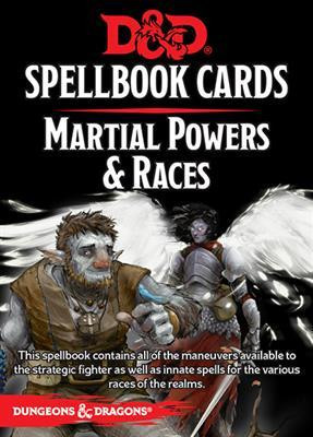D&D RPG - Spellbook Cards: Martial Power & Races Deck